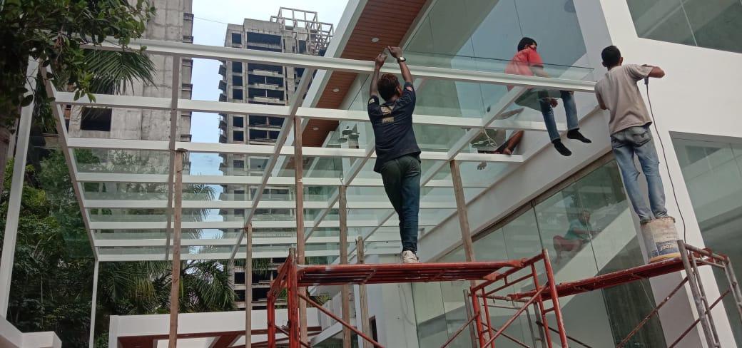 Jasa tukang atap canopy kaca – solusi harga terbaik