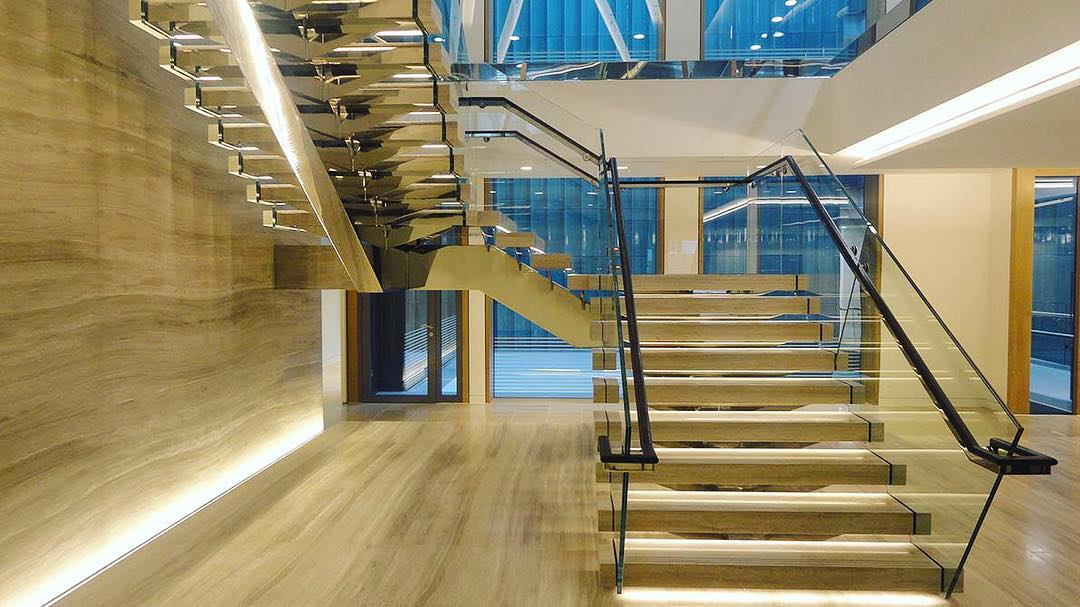 jual railing tangga kaca – harga murah