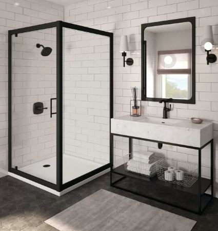 kaca kamar mandi minimalis